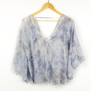 Jessica Simpson Womens Batwing top
